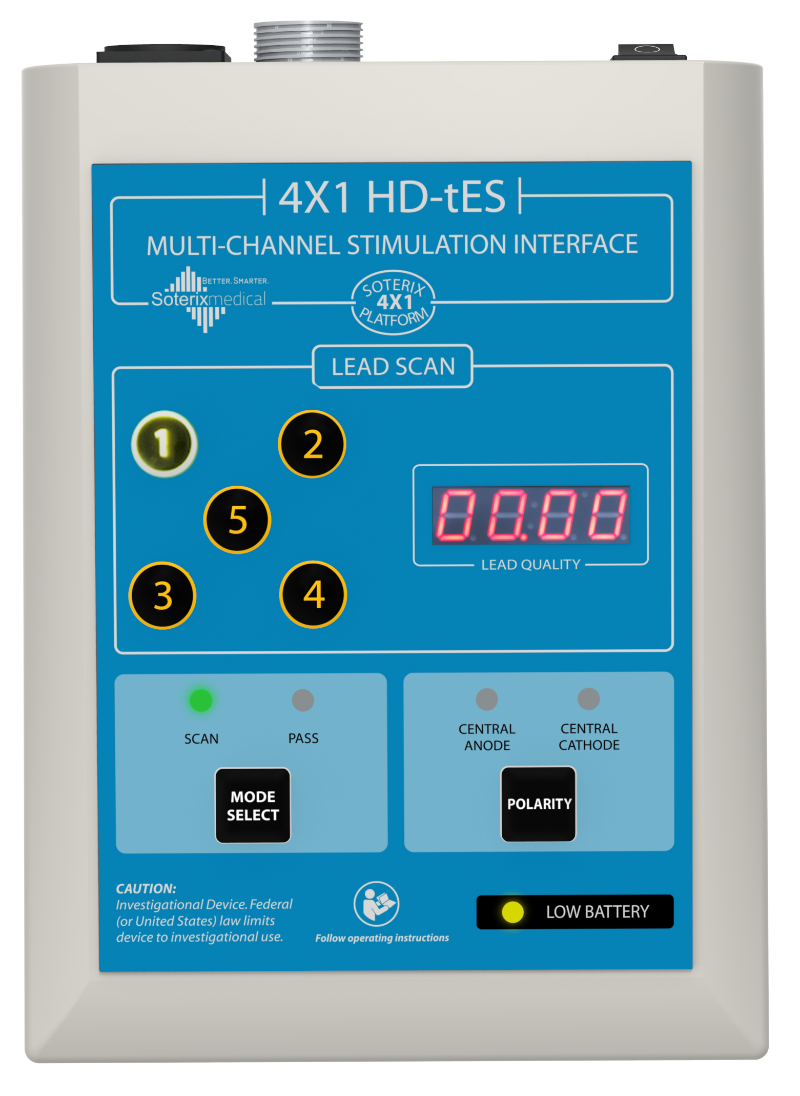 4×1 HD-tDCS Adaptor
