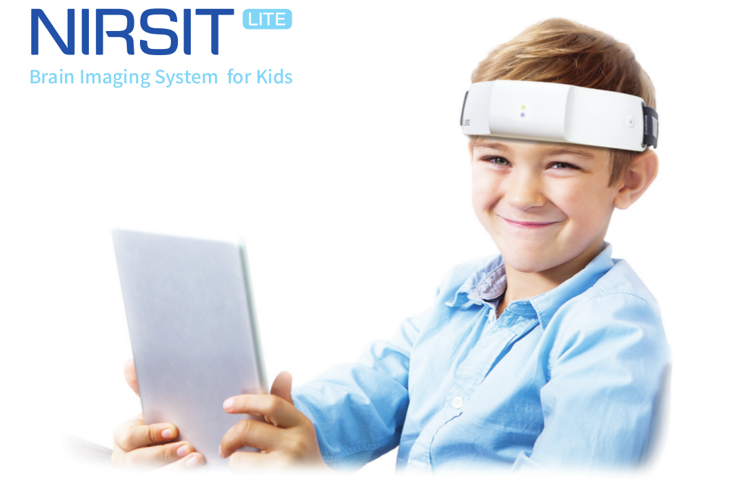 NIRSIT-LITE brain imaging system for kids